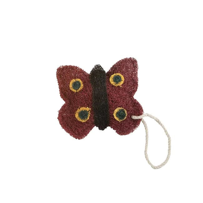 Red Butterfly Loofah - 0