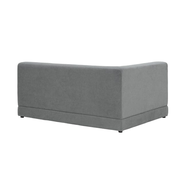 Abby Chaise Lounge Sofa - Stone - 6