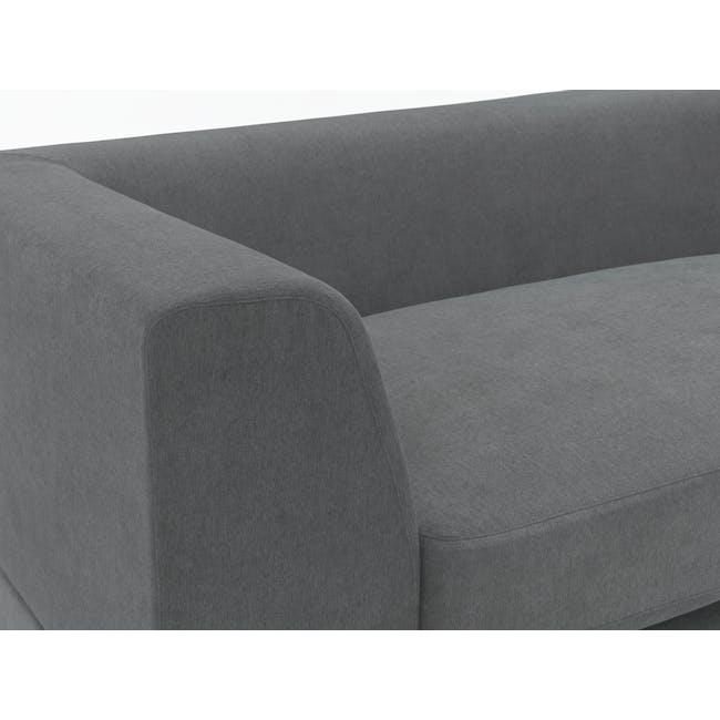 Abby L-Shaped Lounge Sofa - Stone - 6