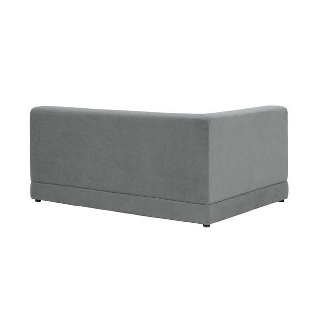 Abby L-Shaped Lounge Sofa - Stone - 9