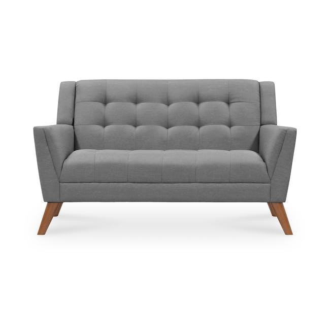 Stanley 2 Seater Sofa - Siberian Grey - 0