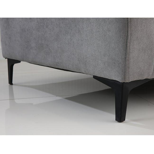 Viva 3 Seater Sofa - Light Grey - 2