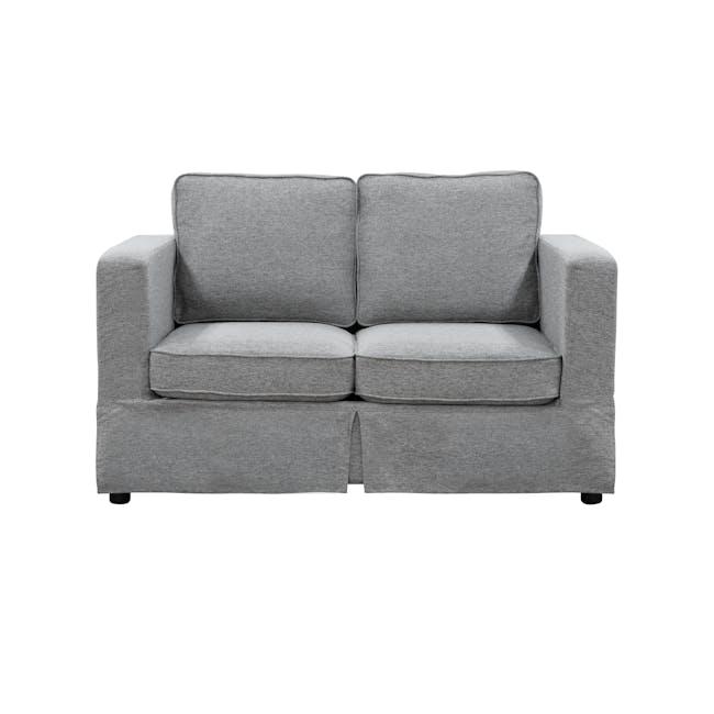 Berlin 2 Seater Sofa - Siberian Grey - 0