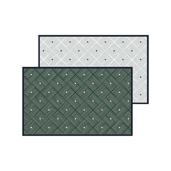Ease Medium Reversible Mat - Emerald - 15