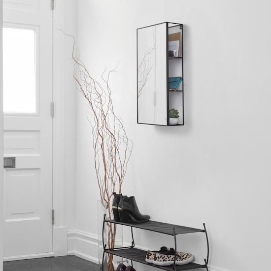 Umbra - Cubiko Storage Mirror 60 x 30 cm
