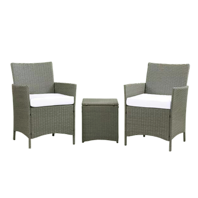 Milton 3pc Set with White cushions - Image 2