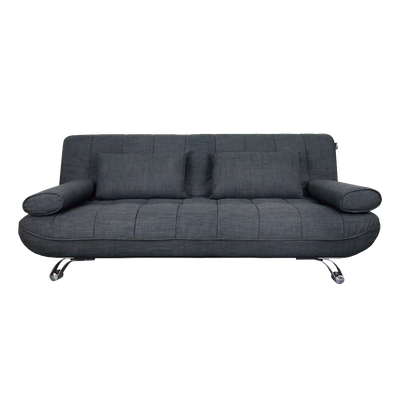 Clifford 3 Seater Sofa Bed - Grey - Image 1