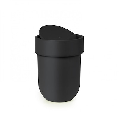 Touch Can with Lid - Black
