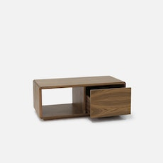 (As Is) Milan Coffee Table - Right Drawer - 1
