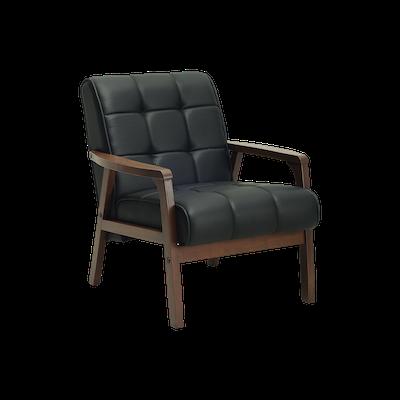 (As-is) Tucson 1 Seater Sofa - Cocoa, Espresso - 1 - Image 1