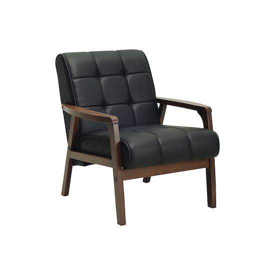 Shape - Tucson Armchair - Cocoa, Espresso (Faux Leather)