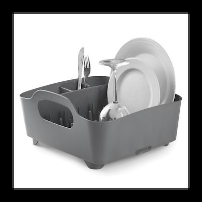 Tub Dish Rack - Charcoal - Image 2