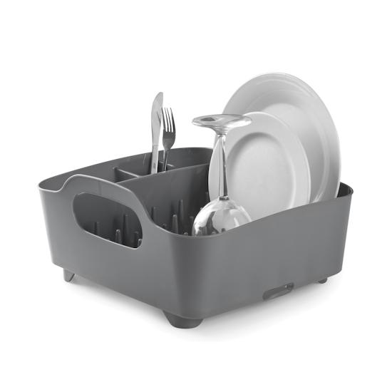 Umbra - Tub Dish Rack - Charcoal