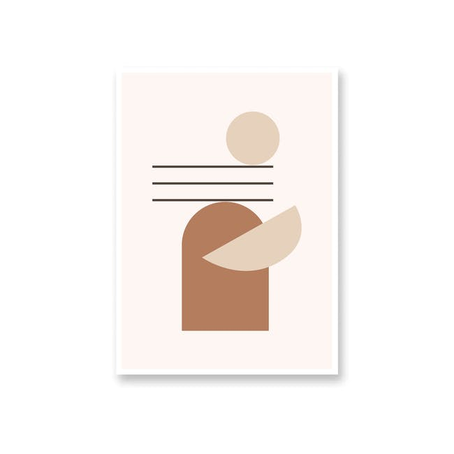 Borderless Graphic Art Print on Paper (2 Sizes) - Reflect - 0