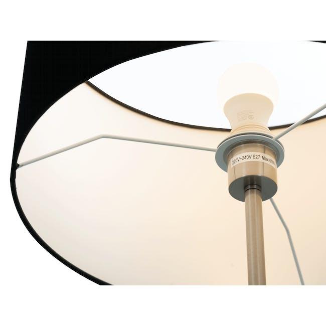 Reese Floor Lamp - Black, Nickel - 1