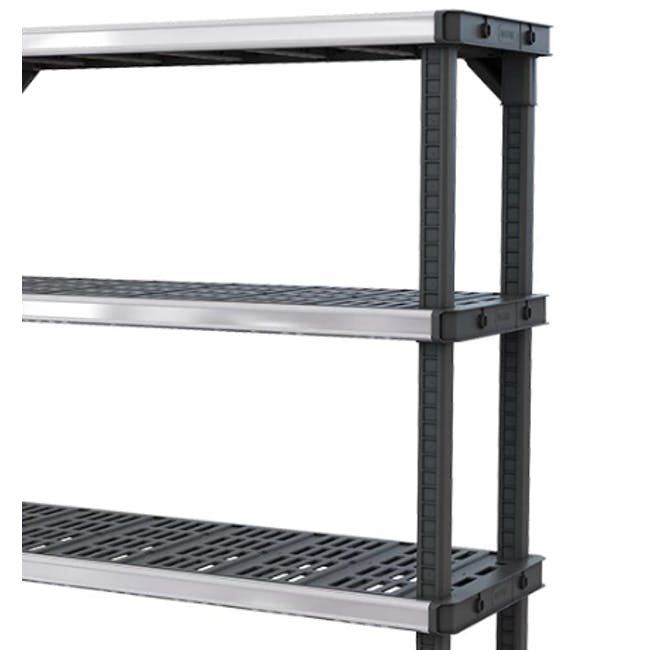 Fused Shelf 4 Tier 122cm - 2
