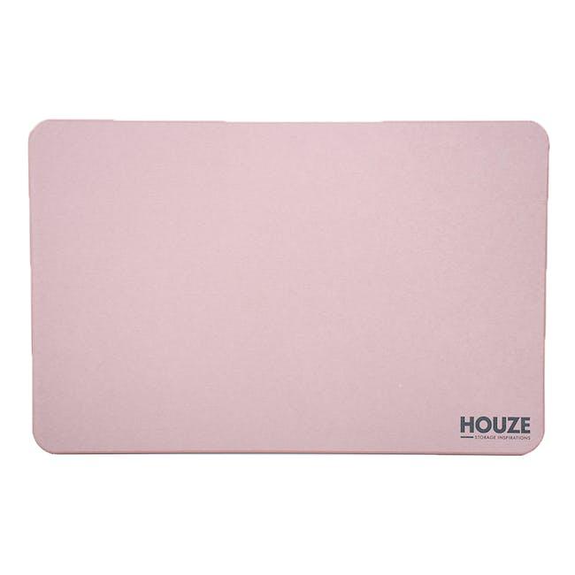 Diatomite Absorbent Mat - Pink - 0