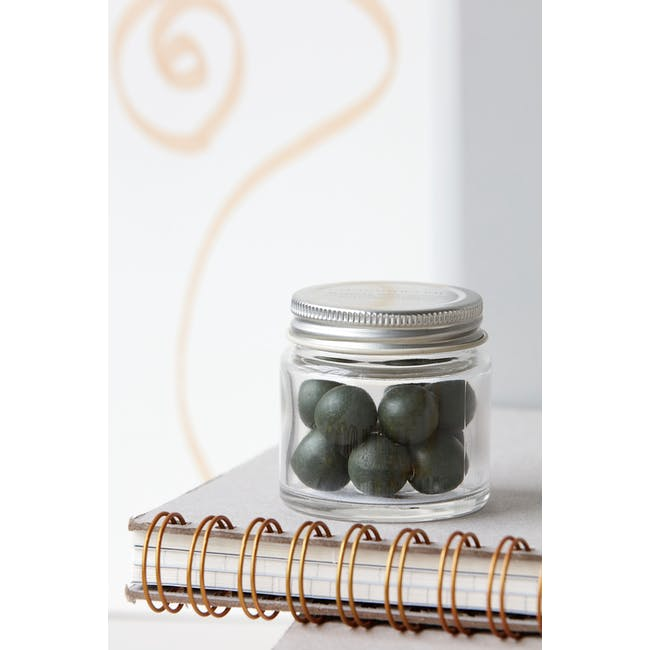 Femme Woods Round Magnets - Army Green (Set of 12) - 2