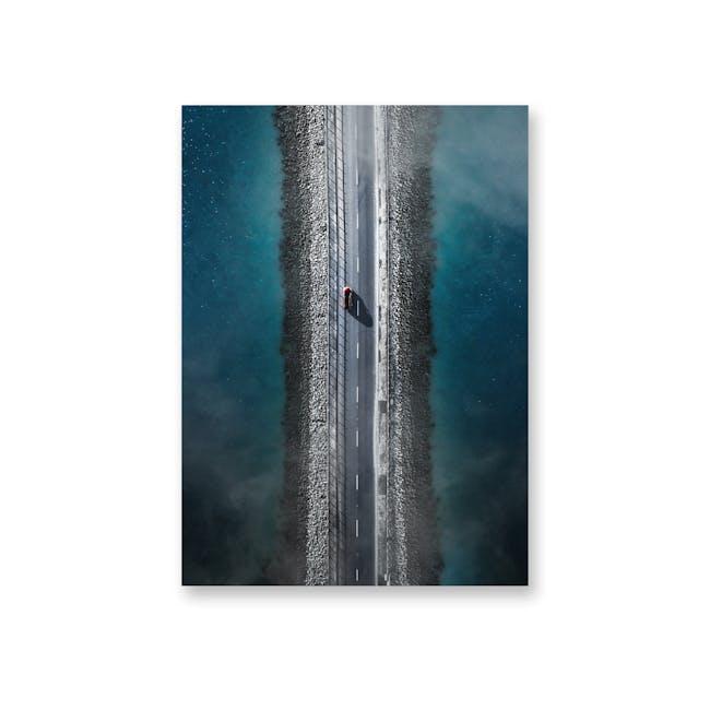Borderless Adventure Art Print on Paper (2 Sizes) - Roadtrip - 0