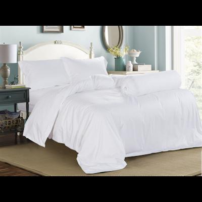 (Queen) Hotelier Prestigio™ 6-pc Bedding Set - White Sateen Cross - Image 1