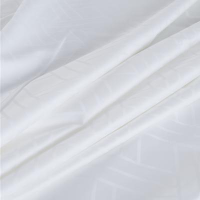 (Queen) Hotelier Prestigio™ 6-pc Bedding Set - White Sateen Cross - Image 2