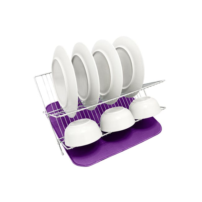 Dish Drying Mat Grape - 2