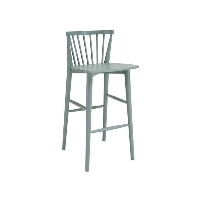Birdy Bar Chair - Sage Green - 0