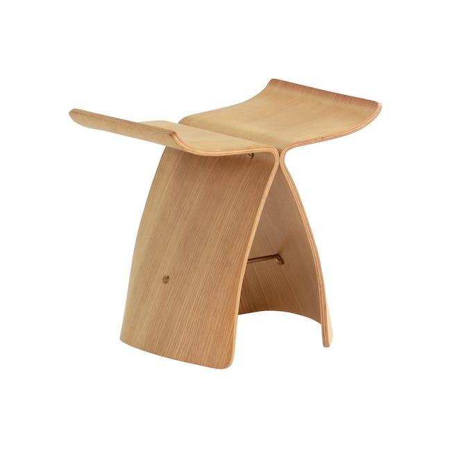 Butterfly Stool Replica - Oak - 0