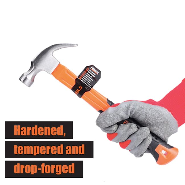 FINDER Deluxe Claw Hammer (2 Sizes) - 4