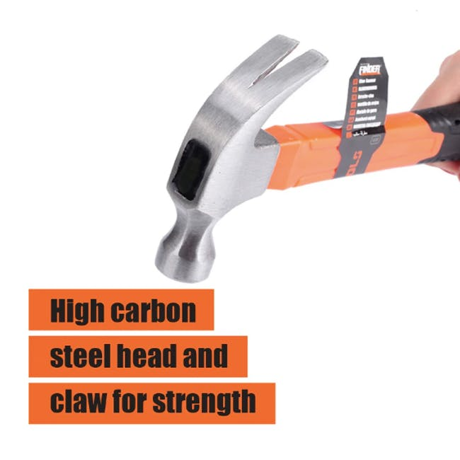 FINDER Deluxe Claw Hammer (2 Sizes) - 3
