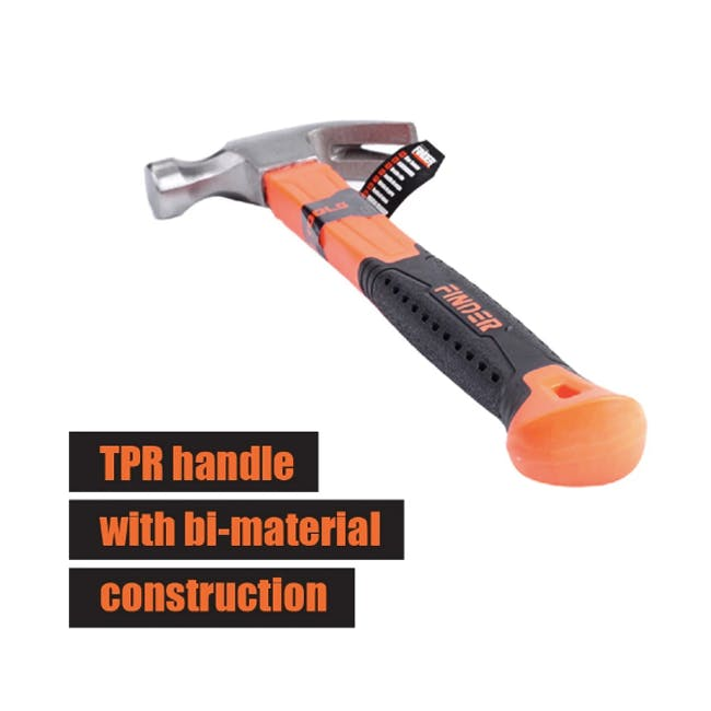 FINDER Deluxe Claw Hammer (2 Sizes) - 5