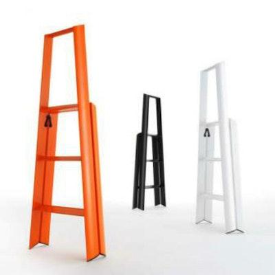 Hasegawa 3 Step Aluminium Ladder ‰- Orange - Image 2