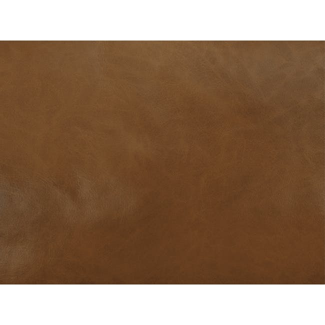 Nolan 3 Seater Sofa - Cigar (Premium Waxed Leather) - 8