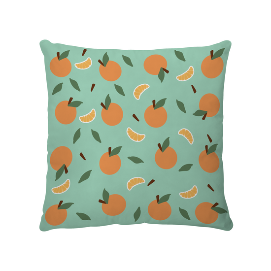 1688 - Mandarin Orange Confetti Cushion Cover