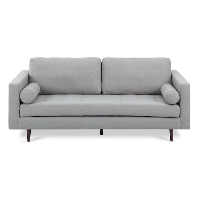 Nolan 3 Seater Sofa - Slate (Fabric) - 0
