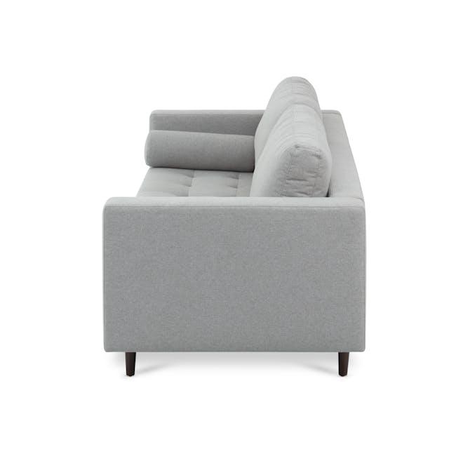 Nolan 3 Seater Sofa - Slate (Fabric) - 3