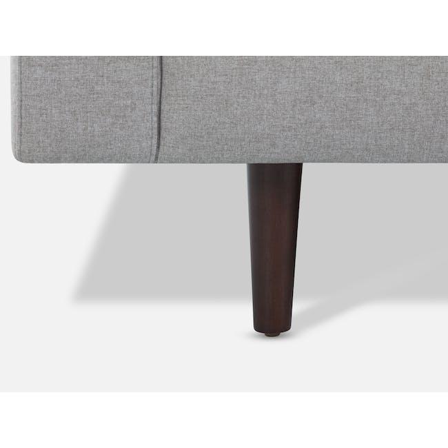 Nolan 3 Seater Sofa - Slate (Fabric) - 8