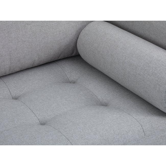 Nolan 3 Seater Sofa - Slate (Fabric) - 5