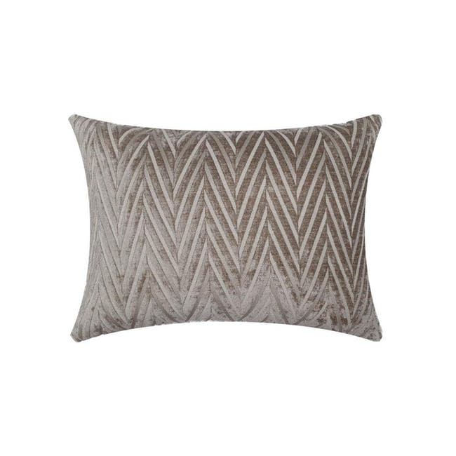 Lola Oblong Cushion Cover - Taupe - 0