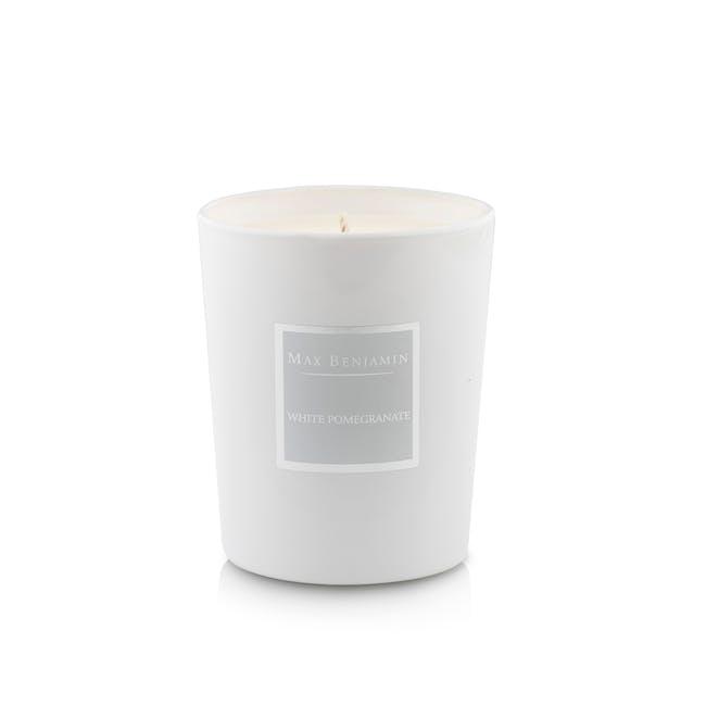 White Pomegranate Candle - 1