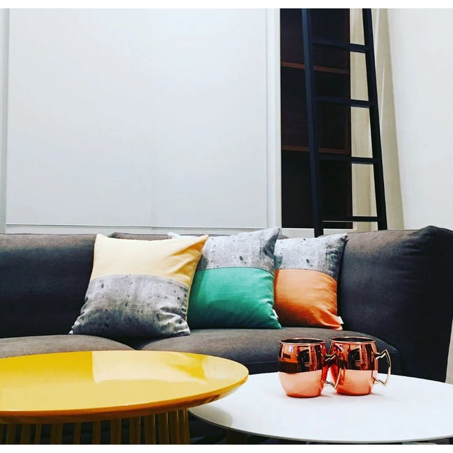 Citori Cushion - Yellow - 1