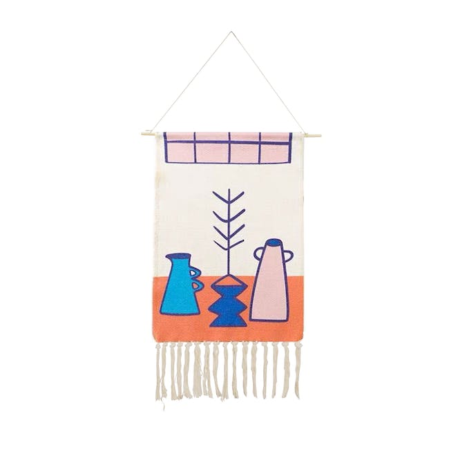 Nordic Tapestry with Tassle - Modern Kitchen - 0