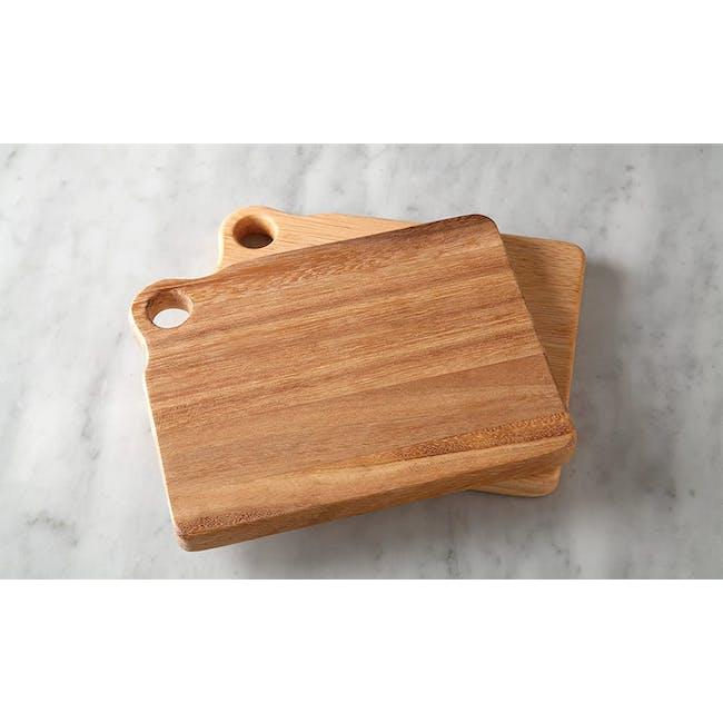 Ironwood Sandwich Acacia Cutting Serving Boards Set - 2