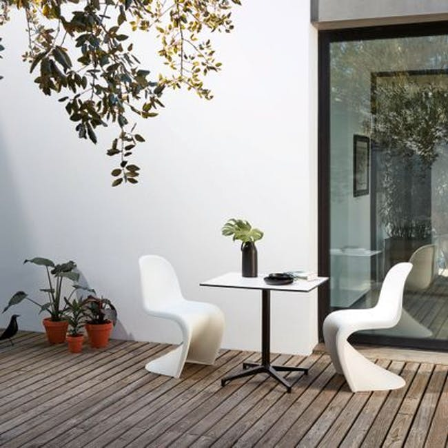 Panton Chair Replica - Black - 7