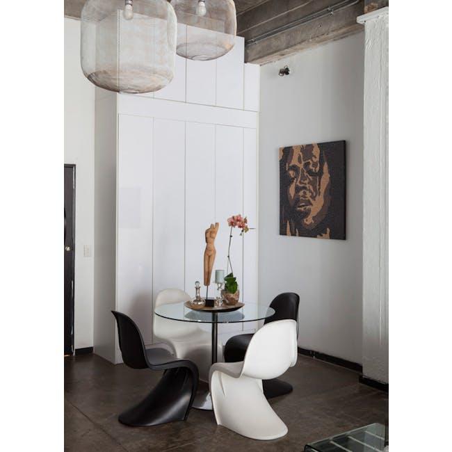 Panton Chair Replica - Black - 1