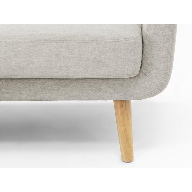 Cali L-Shaped Sofa - Sand - 6