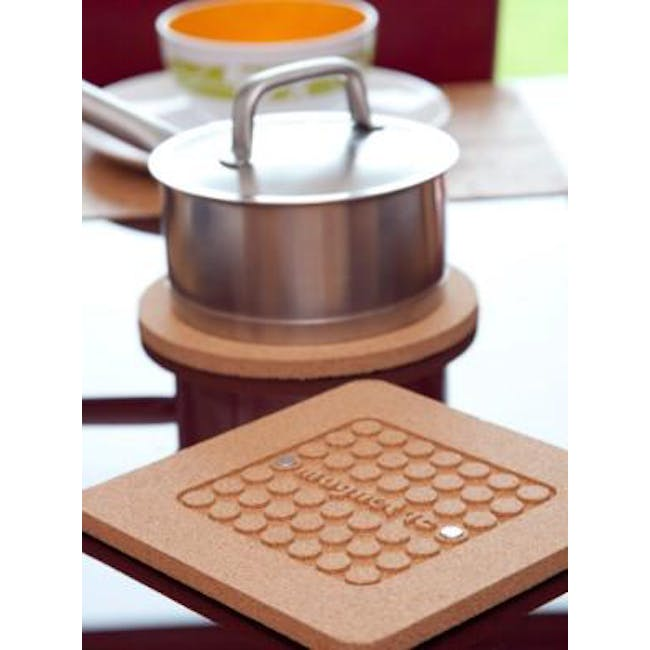 Magnetic Hot Pot Stand Square - 2