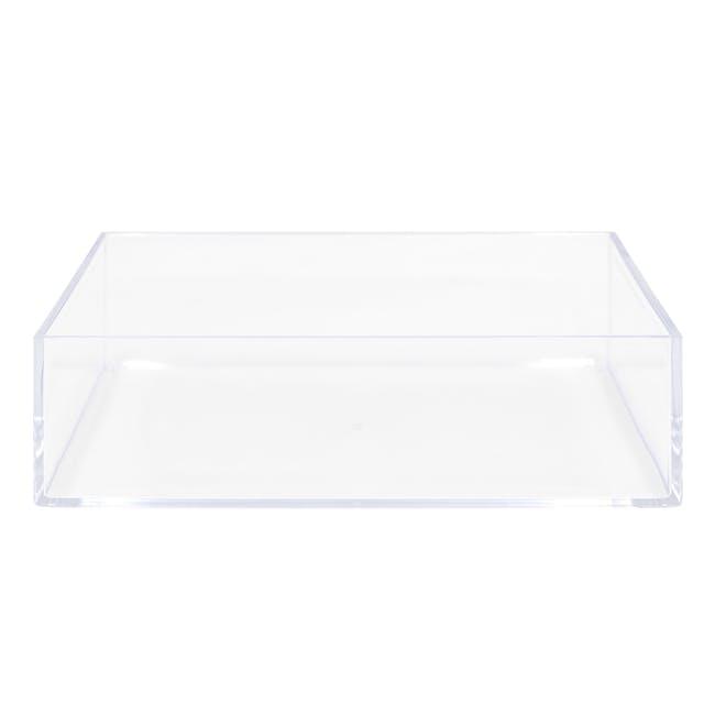 Nakabayashi Acrylic Tray - 1 Compartment - 0