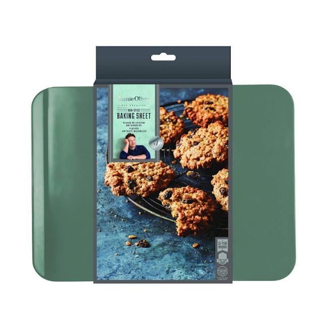 Jamie Oliver Atlantic Green Non-Stick Baking Sheet - 1