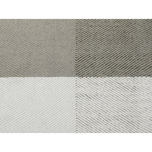 Array Flatwoven Rug 2.4m by 1.7m - Grey - 1